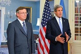 Украина-ЕС - США - Госсекретарь США напомнил Украине о важности выполнения требований ЕС