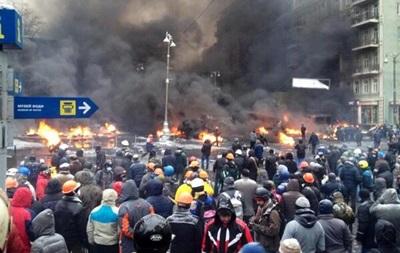За сутки к медикам Киева обратились 13 участников акций протеста