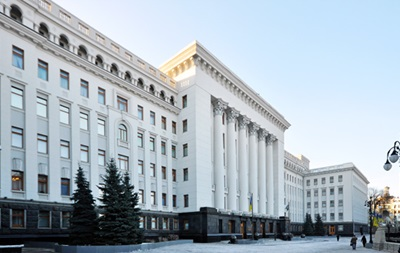 Фракция ПР проводит заседание в здании администрации президента