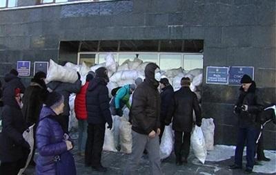 По факту захвата Сумской ОГА открыто уголовное производство