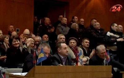 Тернопольские депутаты признали Народную Раду легитимной