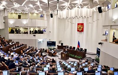 Российские сенаторы приняли заявление по Украине