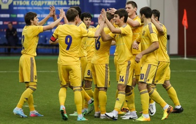 Молодежная сборная Украины по футболу вышла в полуфинал Кубка Содружества