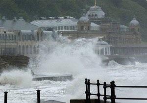 Ураган Катя обрушился на Британию