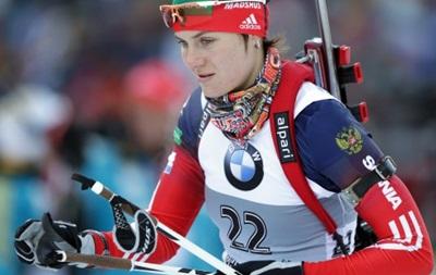 В крови российских биатлонисток обнаружен серьезный допинг - СМИ