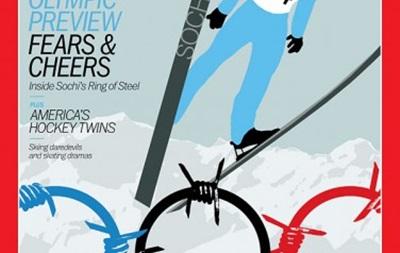 Журнал Time посвятил Олимпиаде в Сочи обложку с колючей проволокой
