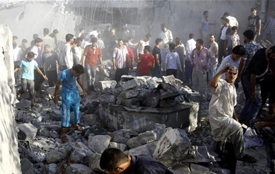 Бомбардировка сирийских ВВС унесла десятки жизней