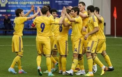 Молодежная сборная Украины разгромила Россию в финале Кубка Содружества