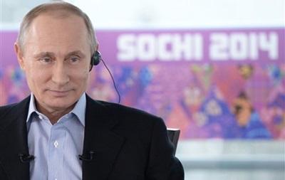 Путин рассказал, что сам выбрал место для Олимпиады