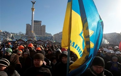 Польша отправила 10 тонн гуманитарной помощи Евромайдану