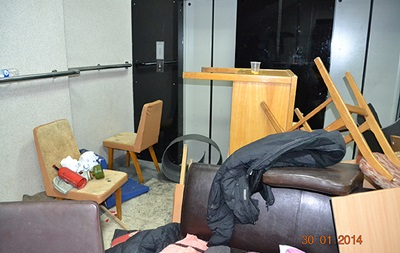 Как громили Минагро. Опубликованы фото после захвата министерства
