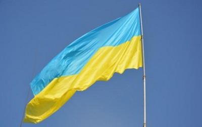 В Олимпийской деревне подняли украинский флаг
