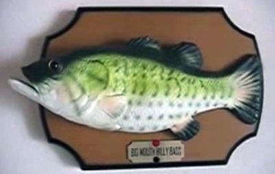 В США грабителя магазина спугнула поющая зеленая рыба