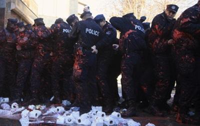 В Косово произошли столкновения между студентами и полицией