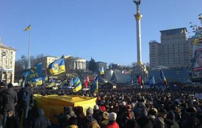 Двух пропавших несовершеннолетних девочек милиция нашла на Майдане в Киеве