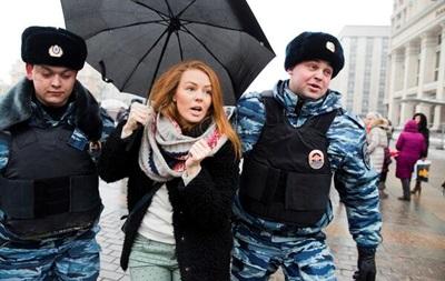 В Москве задержаны десятки человек за проведение акции в поддержку Дождя