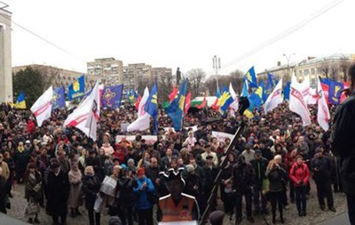 В Черкассах запретили собираться на митинги
