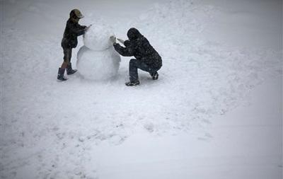 В Японии выпало рекордное количество снега