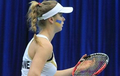 Теннис: Женская сборная Украины не сумела вернуться в мировую элиту