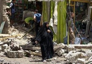 В Багдаде после серии взрывов погибли 50 человек