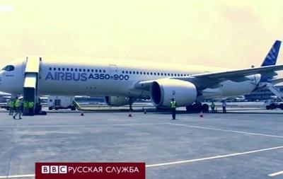 Аэробус A350 впервые представлен публике