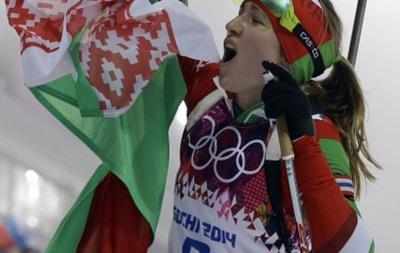 Лукашенко назначил Домрачеву знаменосцем на закрытии Олимпиады в Сочи