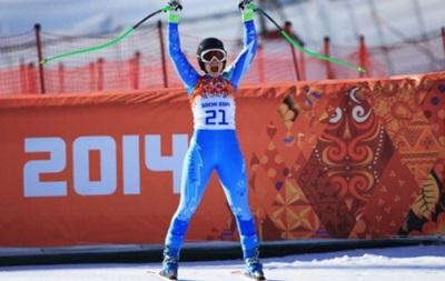 Сочи-2014: Горнолыжницы Мазе и Гизин поделили  золото  Олимпиады