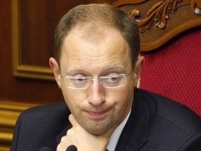 Рада отказалась увольнять Яценюка