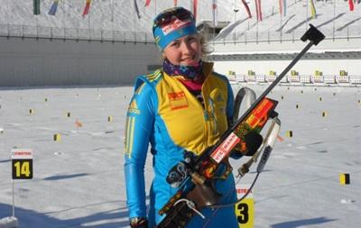 Украинская биатлонистка: Один промах был лишний, конечно же