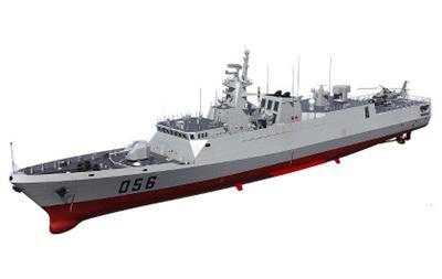 Китай завершил проектирование фрегата нового поколения