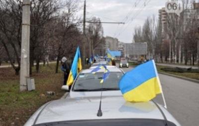 В Запорожской области мужчина сгорел в автомобиле