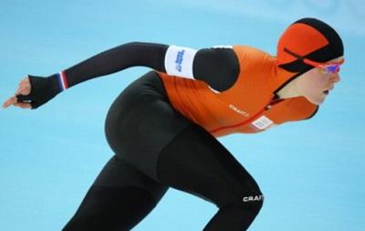 Голландские конькобежки заняли первые четыре места