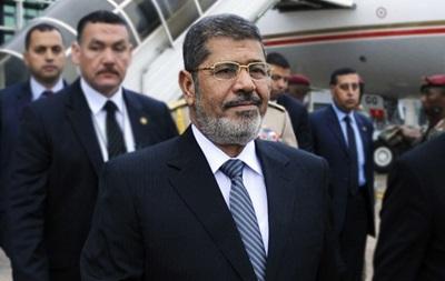 Суд над свергнутым президентом Египта Мохаммедом Мурси