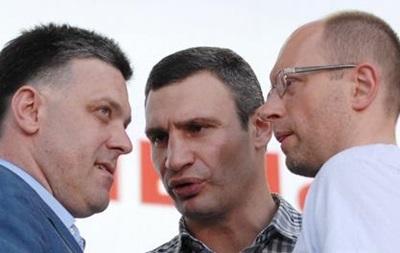 Лидеры оппозиции пошли совещаться к Рыбаку в кабинет