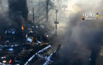 На Грушевского возобновились беспорядки