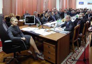 ПР: Тимошенко боится ответственности