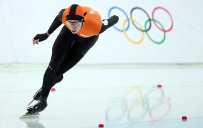 Олимпиада 2014: Голландские конькобежцы в четвертый раз заняли весь пьедестал