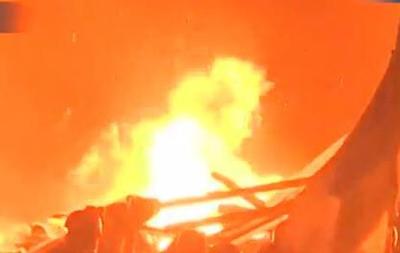 В центре Киева горит здание консерватории