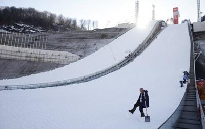 На Олимпиаде в Сочи отменили тренировку двоеборцев из-за льда на трассе