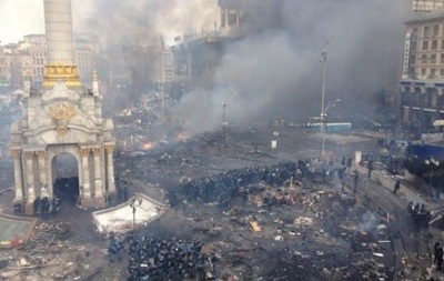 В центре Киева спокойно
