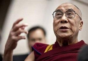 Далай-лама обсудил с Обамой гуманитарные ценности
