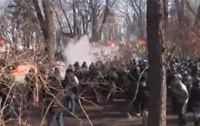 Сторонники Партии регионов в Мариинском парке объявили мобилизацию