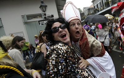 Ежегодный карнавал Марди гра