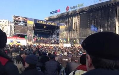 Львовская милиция заявила, что возьмется за оружие, если будут выстрелы в сторону Майдана