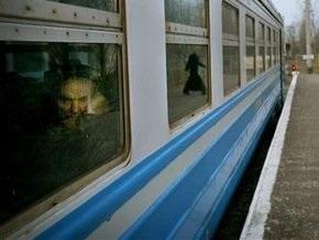 В Луганской области горел пассажирский поезд