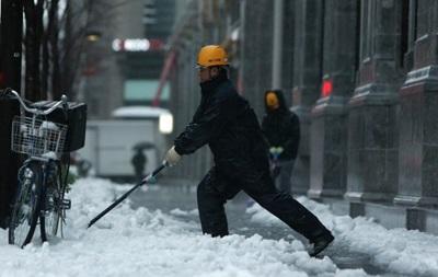 В Японии страховые выплаты пострадавшим от снегопадов достигли $600 млн