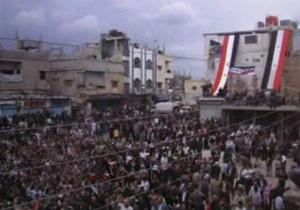 В Сирии вновь открыли огонь по демонстрантам