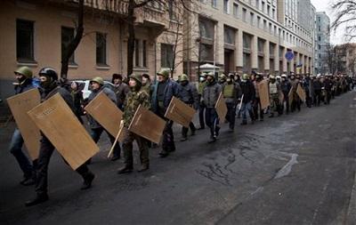 Активисты Майдана обсудили с милиционерами вопрос совместного патрулирования