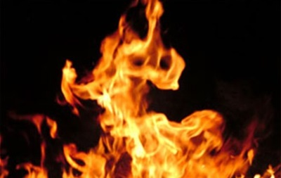 В Макеевке горел торговый дом