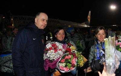 Золотая встреча: Украинские олимпийцы вернулись в Киев
